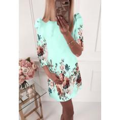 Γυναικείο φόρεμα 504002 μέντα