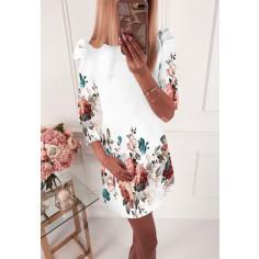 Γυναικείο φόρεμα 504002 άσπρο