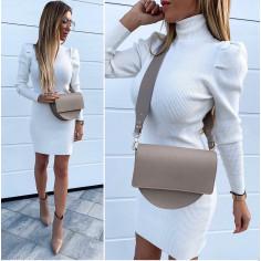 Γυναικείο φόρεμα ζιβάγκο 3466 άσπρο