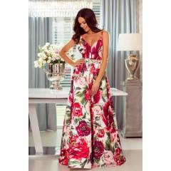 Γυναικείο φόρεμα 19126 κόκκινο