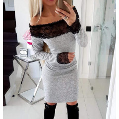 Γυναικείο φόρεμα 0540 γκρι
