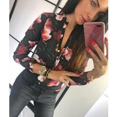 Γυναικείο πουκάμισο 7056 μαύρο