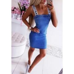 Γυναικείο τζιν φόρεμα 3135