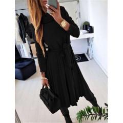 Γυναικείο φόρεμα 2239 μαύρο