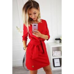 Γυναικείο φόρεμα 3327 κόκκινο