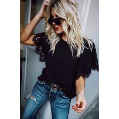 Γυναικεία μπλούζα 3485 μαύρη