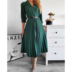 Γυναικείο φόρεμα 3550 πράσινο