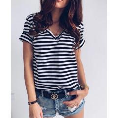 Γυναικείο κοντομάνικο μπλουζάκι 3141 μαύρο
