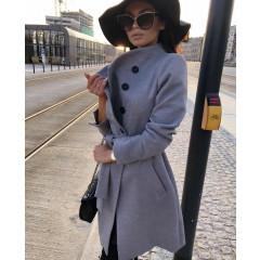 Γυναικείο παλτό 5081 γκρι