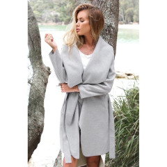 Γυναικείο παλτό 1220 γκρι