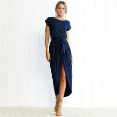 Γυναικείο φόρεμα 7492 σκούρο μπλε
