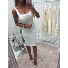 Γυναικείο φόρεμα 3140 άσπρο