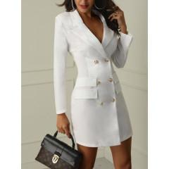 Γυναικείο φόρεμα-σακάκι 9040