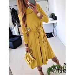 Γυναικείο φόρεμα 2239 κίτρινο