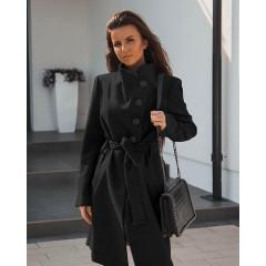 Γυναικείο παλτό 5081 μαύρο