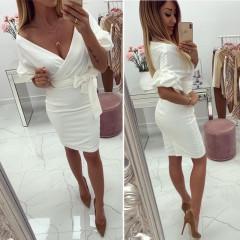Γυναικείο φόρεμα 1785 λευκό