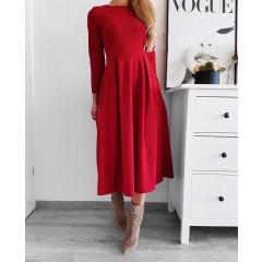 Γυναικείο φόρεμα 2241 κόκκινο