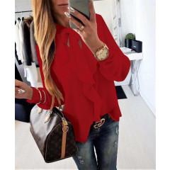 Γυναικείο πουκάμισο 1055 κόκκινο