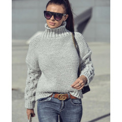Γυναικείο πουλόβερ 7211 γκρι