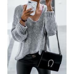 Γυναικείο πουλόβερ 888 γκρι