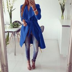 Γυναικείο παλτό 1220 μπλε