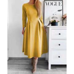 Γυναικείο φόρεμα 2241 κίτρινο