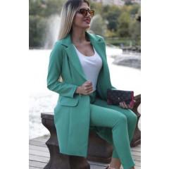 bb0986d4ab65 Γυναικείο σετ σακάκι και παντελόνι 3311