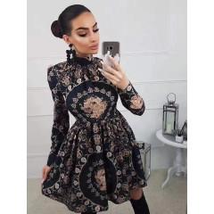 Γυναικείο φόρεμα 7185 μαύρο