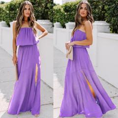 Γυναικείο φόρεμα 3094 μωβ