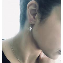 Σκουλαρίκια DE LA CRUZ – mini