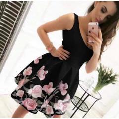 Γυναικείο φόρεμα 2699 μαύρο