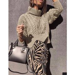 Γυναικείο πουλόβερ 1180 μπεζ