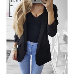 Γυναικείο σακάκι 3228 μαύρο