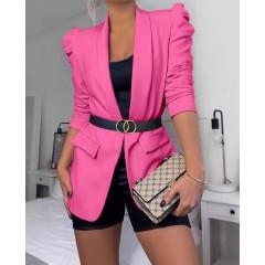 Γυναικείο κομψό σακάκι 3969 φούξια