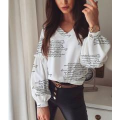 Γυναικεία μπλούζα με print 395706