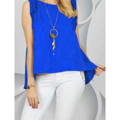 Γυναικείο τοπάκι 3582 μπλε