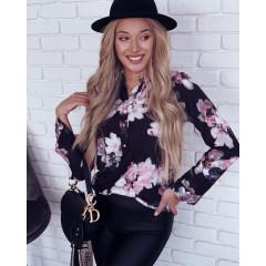 Γυναικείο πουκάμισο 7059 μαύρο