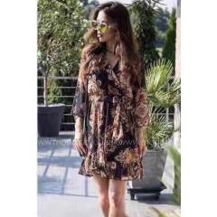 Γυναικείο φόρεμα με σχέδια 12169