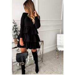 Γυναικείο φόρεμα 3952 μαύρο