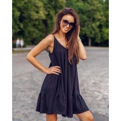 Γυναικείο φόρεμα 3693 μαύρο