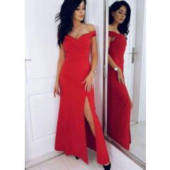 Γυναικείο φόρεμα 6181 κόκκινο