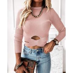Γυναικεία εντυπωσιακή μπλούζα 2499 ροζ