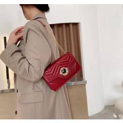 Γυναικεία τσάντα B280 κόκκινη