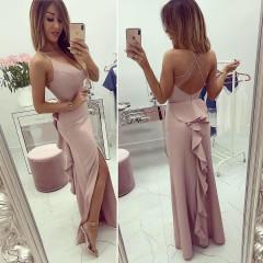 Γυναικείο φόρεμα 7823 ροζ