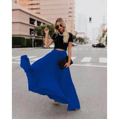 Γυναικεία φούστα 3611 μπλε