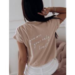 Γυναικείο κοντομάνικο μπλουζάκι  3244
