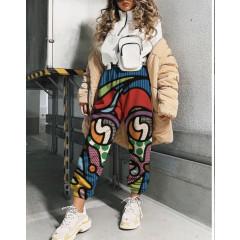 Παντελόνι με print 258304