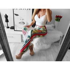 Γυναικείο παντελόνι 3576 λευκό