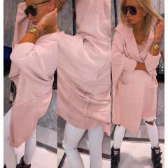 Γυναικεία ζακέτα 3309 ροζ
