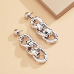 Γυναικεία σκουλαρίκια SP35 ασημί